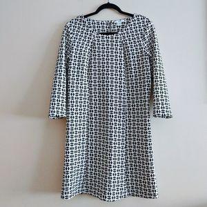 Bar III Women's Dress Size L White And Black